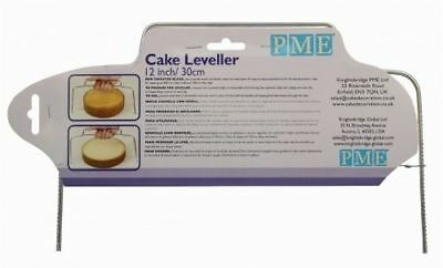 """Pme Cake Leveller Up To 10"""" / 25Cm Cakes,serrated Blade,levels & Tortes, Layers"""