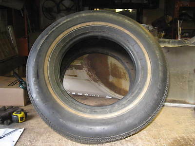 NOS BF Goodrich Lifesaver Classic T/A HR60-14 low-profile whitewall vintage tire