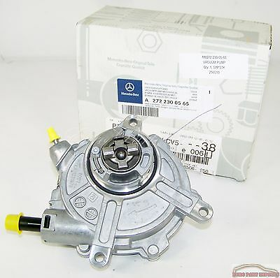 Mercedes-Benz Engine Vacuum Pump Germany Original Genuine OE 2722300565