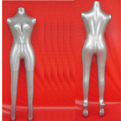 Great Quality Full Body Inflatable Ladies Female Mannequin Shop Display Ukseller