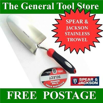 Spear And Jackson Stainless Steel Select Hand Trowel 3058El