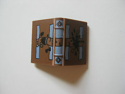 Lego Harry Potter Brown TOM RIDDLE DIARY Spellbook Minifig Accessory 4730 4731