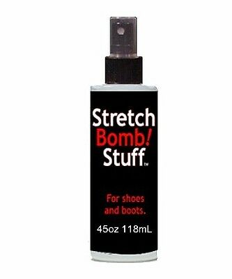 4oz SPRAY Shoe STRETCHING BOMB Works  Best on BOOTS SHOE for STRETCH out to SIZE