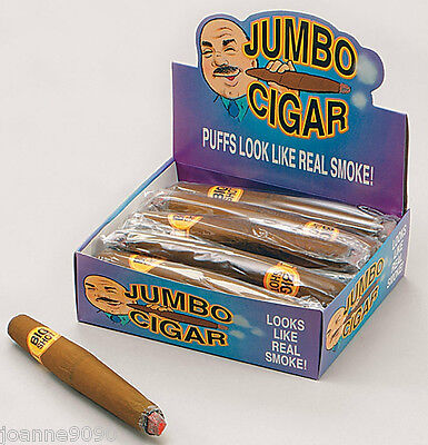 Fake Jumbo Fat Smoking Cigar Fancy Dress Gangster Mexican Costume Accessory Prop