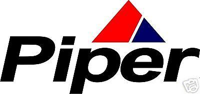 Piper Full Color Aircraft Logo Decals/Stickers !