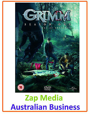 Grimm - Complete Dvd Series Season 1 - Brand New & Sealed - Free Shipping