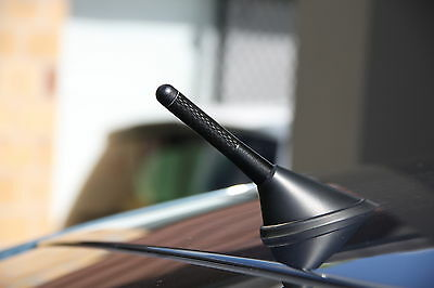 Nissan Navara 80mm Short Carbon Fiber Antenna Aerial Stuby Bee Sting