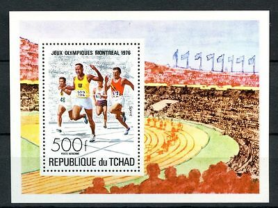 Chad 1976 SG#MS452 Olympic Games MNH M/S #A31931