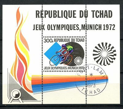 Chad 1973, SG#MS399 2nd African Games Cto Used M/S #A31993