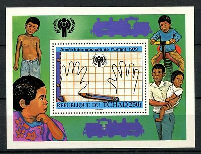 Chad 1979 SG#MS565 Year Of The Child MNH M/S #A31938