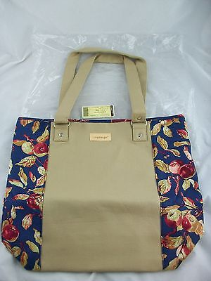 Longaberger Tote Bag Purse Early Harvest NIB