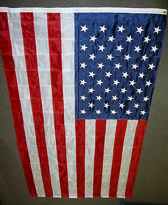 American Flag 6X10 Feet Nylon Embroidered Stars Sewn Stripes Us Usa New F563