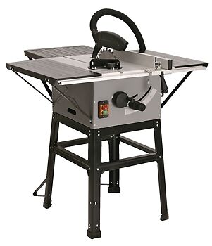 """SIP 01930 Professional 10"""" Inch Table Saw Inc Stand 230v 1500w"""