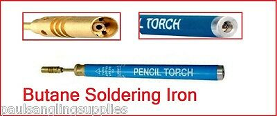 Pencil Style Butane Gas Soldering Iron Refillable Blow Torch