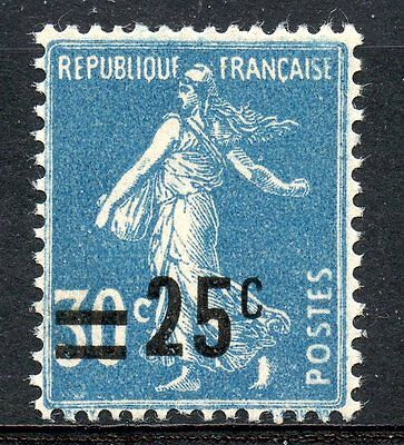 Stamp / Timbre De France Neuf N° 217 ** Semeuse Surchargee