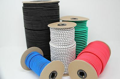 Bungee Cord / Shock Cord-sizes 1/8, 3/16, 1/4, 5/16, 3/8, 1/2, 5/8 (Tie Down)