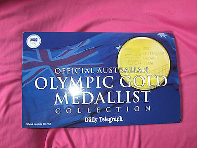 2000 official australian olympic gold medalist collection