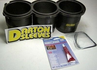 Darton MID Block Sleeves for Mitsubishi Evolution EVO X 08-UP Ralliart 4B11