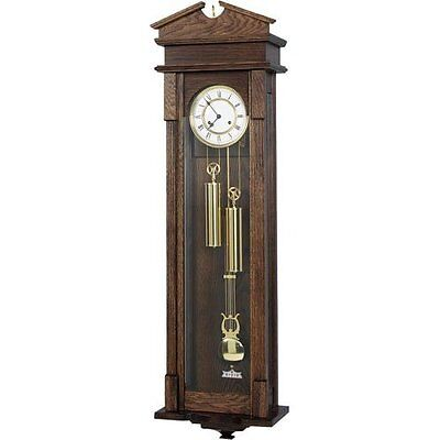 Vienna Regulator Clock with Hermle 8 Day Weight Driven Movement - 123