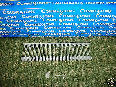 "1000 FINE Tagging Tag  Tagger Gun  3/4"" Barbs Fasteners Just Under 1"""