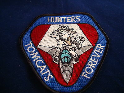 TOMCATS HUNTERS FOREVER MILITARY PATCH NEW
