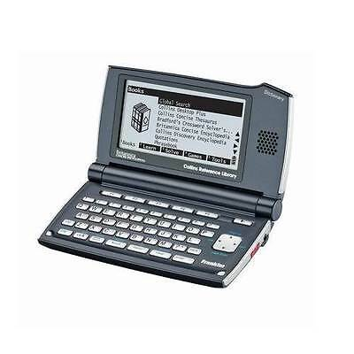 Franklin DMQ2110 Collins Speaking Reference Dictionary Thesaurus Translator New