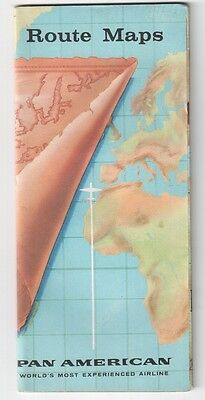 Pan American Route Maps Am Paa