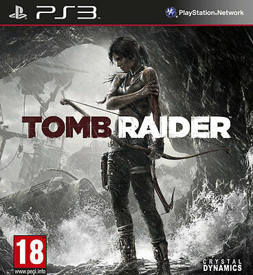 Tomb Raider PS3 GAME PAL *BRAND NEW!* + Warranty!