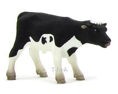 FREE SHIPPING | Mojo Fun 387061 Standing Holstein Calf Model - New in Package