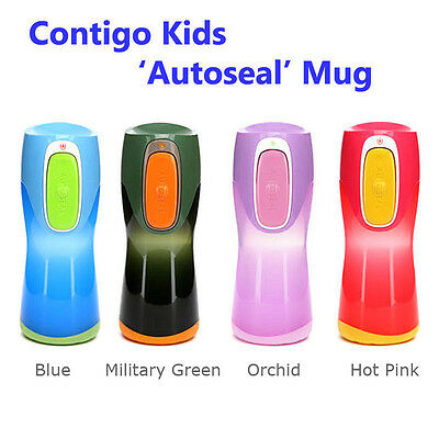 Contigo Autoseal Kids Drink Bottle, 9oz/255ml, BPA Free, Spill Proof Mug