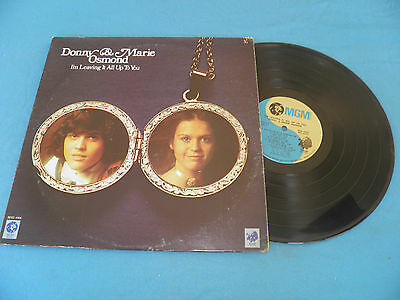 Donny & Marie Osmond - I'm Leaving It All Up To You - RARE LP LISTEN G. Becaud