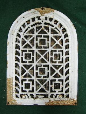 Antique Arch Top Dome Heat Grate Wall Register Vtg  #1473-13
