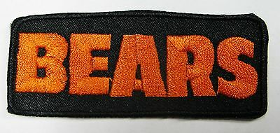 Lot Of (1) Nfl Chicago Bears -Name- Patch Patches Iron-On Item # 33
