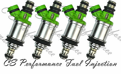 OEM Denso Fuel Injectors Set (4) 23250-74140 CA Emission Flow Matched in the USA