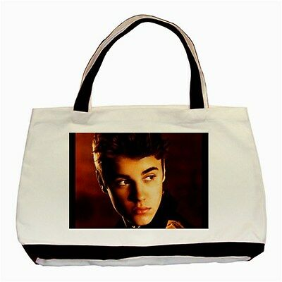 Justin Bieber Believe Collectible Photos Classic Tote Bag 2 Sides