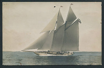 CPA Yacht Voilier c. 1905 - Type America's Cup - 1