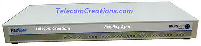 Multi-Tech - FaxFinder 8-Port T.37 Fax Server - Part# FF830 - NEW