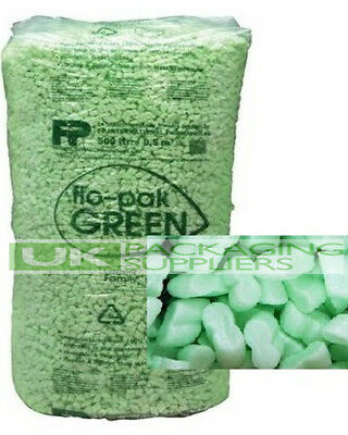 90 Cubic Foot Flopak Super 8 Polystyrene Void Loose Fill Packing Peanuts Offer