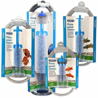 Interpet Prime Gravel Cleaner Fish Tank Aquarium Self Start Syphon Siphon