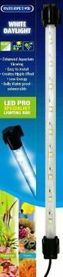"INTERPET WHITE DAYLIGHT LED PRO LIGHTING BAR 14.25"" 9x 0.2w FISH TANK LIGHT TUBE"