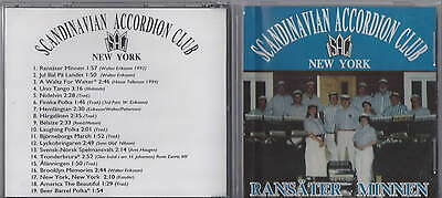 The Scandinavian Accordion Club of New York CD RARE OOP