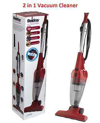 BELDRAY 600w 2-in-1 STICK  BAGLESS HAND HELD UPRIGHT VACUUM CLEANER HEPA FILTER