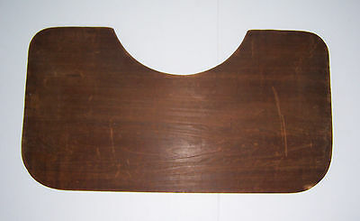 """Antique  Primitive Early Wooden Bed Tray 19 1/4"""" Wide Board! Rare Find!"""