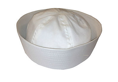 Men's White Sailor Hat