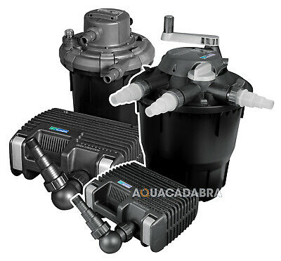 Hozelock Bioforce Revolution Aquaforce Kit Pressure Filter Pump Fish Pond System