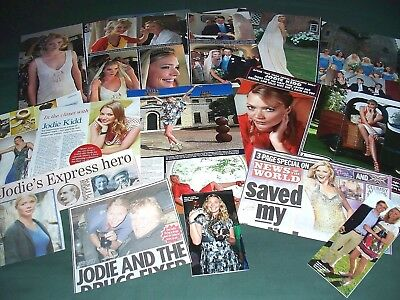 Jodie Kidd - Celebrity  - Clippings/ Cuttings Pack
