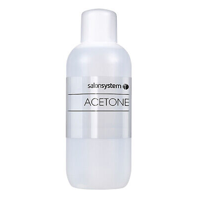 Salon System Profile Acetone Nail Polish Remover Cleanser Cleaner 1 Litre