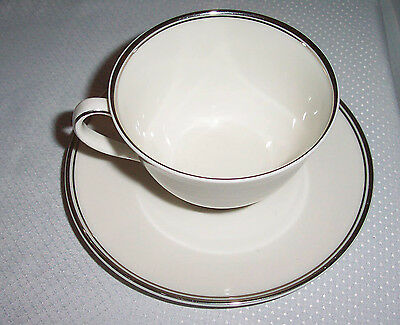 Argenta by Royal Doulton China Footed Cup & Saucer