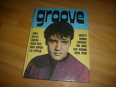 GROOVE POP  Annual c1971  Great  retro / vintage Pop / Music  publication
