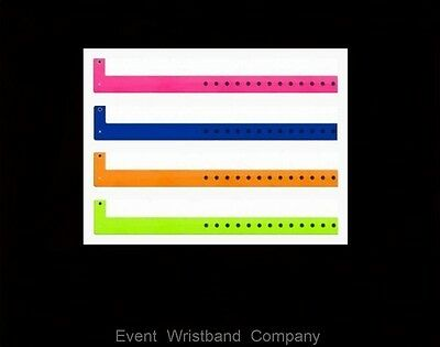 30 x Vinyl Plastic wristbands for rave party, security, sport event, fete, 21st